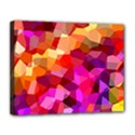 Geometric Fall Pattern Canvas 14  x 11  View1