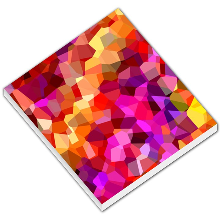 Geometric Fall Pattern Small Memo Pads
