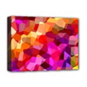 Geometric Fall Pattern Deluxe Canvas 16  x 12   View1