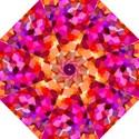 Geometric Fall Pattern Hook Handle Umbrellas (Medium) View1