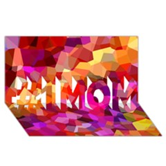 Geometric Fall Pattern #1 Mom 3d Greeting Cards (8x4)