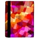 Geometric Fall Pattern Kindle Fire (1st Gen) Flip Case View3