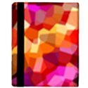 Geometric Fall Pattern Apple iPad 2 Flip Case View3