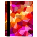 Geometric Fall Pattern Apple iPad Mini Flip Case View3