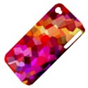 Geometric Fall Pattern Apple iPhone 4/4S Hardshell Case (PC+Silicone) View4