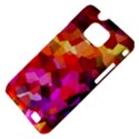 Geometric Fall Pattern Samsung Galaxy S II i9100 Hardshell Case (PC+Silicone) View4