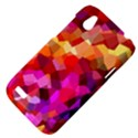 Geometric Fall Pattern HTC Desire V (T328W) Hardshell Case View4