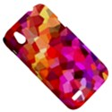 Geometric Fall Pattern HTC Desire V (T328W) Hardshell Case View5