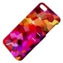 Geometric Fall Pattern Apple iPhone 5 Hardshell Case with Stand View4
