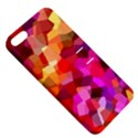 Geometric Fall Pattern Apple iPhone 5 Hardshell Case with Stand View5