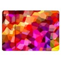 Geometric Fall Pattern Samsung Galaxy Tab 10.1  P7500 Flip Case View1