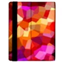 Geometric Fall Pattern Samsung Galaxy Tab 10.1  P7500 Flip Case View2