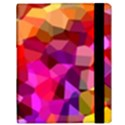 Geometric Fall Pattern Samsung Galaxy Tab 10.1  P7500 Flip Case View3