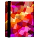 Geometric Fall Pattern Samsung Galaxy Tab 8.9  P7300 Flip Case View3