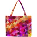 Geometric Fall Pattern Mini Tote Bag View1