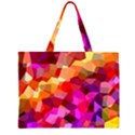 Geometric Fall Pattern Large Tote Bag View1