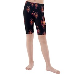 Alphabet Shirtjhjervbretilihhj Kids  Mid Length Swim Shorts