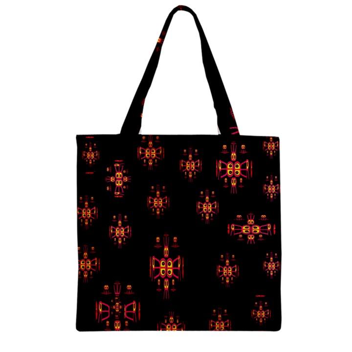 Alphabet Shirtjhjervbretilihhj Zipper Grocery Tote Bag