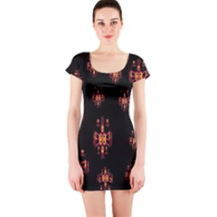Alphabet Shirtjhjervbretilihhj Short Sleeve Bodycon Dress