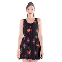 Alphabet Shirtjhjervbretilihhj Scoop Neck Skater Dress