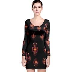 Alphabet Shirtjhjervbretilihhj Long Sleeve Velvet Bodycon Dress