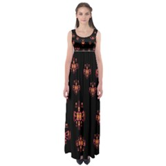 Alphabet Shirtjhjervbretilihhj Empire Waist Maxi Dress