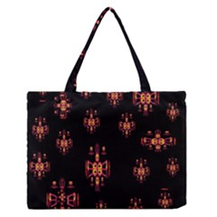 Alphabet Shirtjhjervbretilihhj Medium Zipper Tote Bag