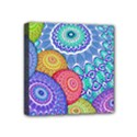 India Ornaments Mandala Balls Multicolored Mini Canvas 4  x 4  View1