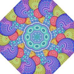 India Ornaments Mandala Balls Multicolored Golf Umbrellas
