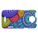 India Ornaments Mandala Balls Multicolored HTC One X Hardshell Case  View1