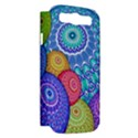 India Ornaments Mandala Balls Multicolored Samsung Galaxy S III Hardshell Case (PC+Silicone) View2