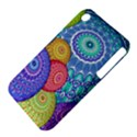India Ornaments Mandala Balls Multicolored Apple iPhone 3G/3GS Hardshell Case (PC+Silicone) View4