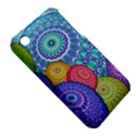 India Ornaments Mandala Balls Multicolored Apple iPhone 3G/3GS Hardshell Case (PC+Silicone) View5