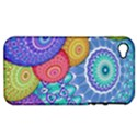 India Ornaments Mandala Balls Multicolored Apple iPhone 4/4S Hardshell Case (PC+Silicone) View1