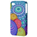 India Ornaments Mandala Balls Multicolored Apple iPhone 4/4S Hardshell Case (PC+Silicone) View3
