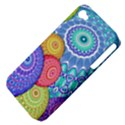 India Ornaments Mandala Balls Multicolored Apple iPhone 4/4S Hardshell Case (PC+Silicone) View4