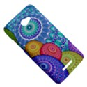 India Ornaments Mandala Balls Multicolored HTC Butterfly X920E Hardshell Case View5