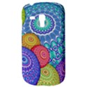 India Ornaments Mandala Balls Multicolored Samsung Galaxy S3 MINI I8190 Hardshell Case View3