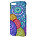 India Ornaments Mandala Balls Multicolored Apple iPhone 5 Hardshell Case with Stand View3