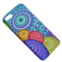 India Ornaments Mandala Balls Multicolored Apple iPhone 5 Hardshell Case with Stand View5