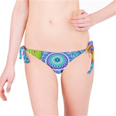 India Ornaments Mandala Balls Multicolored Bikini Bottom
