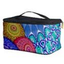 India Ornaments Mandala Balls Multicolored Cosmetic Storage Case View3