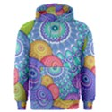 India Ornaments Mandala Balls Multicolored Men s Pullover Hoodie View1