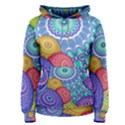 India Ornaments Mandala Balls Multicolored Women s Pullover Hoodie View1