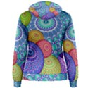 India Ornaments Mandala Balls Multicolored Women s Pullover Hoodie View2