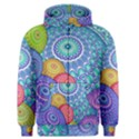 India Ornaments Mandala Balls Multicolored Men s Zipper Hoodie View1