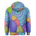 India Ornaments Mandala Balls Multicolored Men s Zipper Hoodie View2