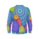 India Ornaments Mandala Balls Multicolored Kids  Sweatshirt View2
