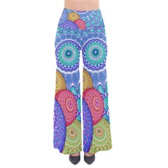 India Ornaments Mandala Balls Multicolored Pants