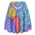 India Ornaments Mandala Balls Multicolored High Waist Skirt View2
